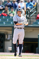 April 26, 2009:  Third Baseman Eric Duncan (10) of the Scranton Wilkes-Barre Yankees, International League Class-AAA affiliate of the New York Yankees, during a game at the Frontier Field in Rochester, NY.  Photo by:  Mike Janes/Four Seam Images