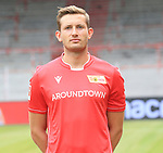 06.07.2019, Stadion an der Wuhlheide, Berlin, GER, 2.FBL, 1.FC UNION BERLIN , Mannschaftsfoto, Portraits, <br /> DFL  regulations prohibit any use of photographs as image sequences and/or quasi-video<br /> im Bild Nicolai Rapp (1.FC Union Berlin #18)<br /> <br /> <br />      <br /> Foto © nordphoto / Engler