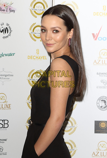 Nadine Mulkerrin at the National Film Awards at the Porchester Hall, London on  Wednesday 28 March 2018 <br /> CAP/ROS<br /> &copy;ROS/Capital Pictures