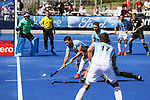 during the Pro League Hockey match between the Blacksticks men and the Argentina, Nga Punawai, Christchurch, New Zealand, Sunday 1 March 2020. Photo: Simon Watts/www.bwmedia.co.nz