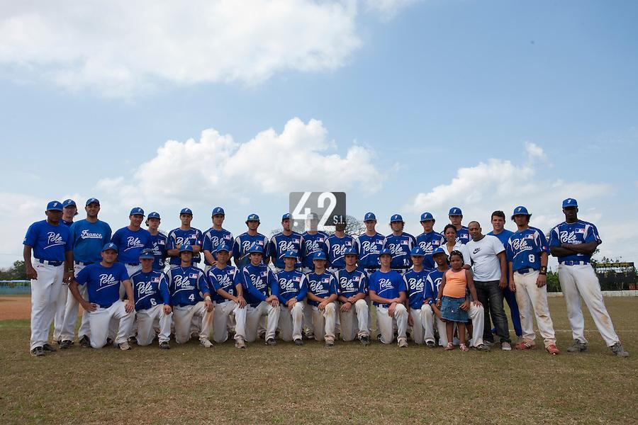 BASEBALL - POLES BASEBALL FRANCE - TRAINING CAMP CUBA - HAVANA (CUBA) - 13 TO 23/02/2009 - TEAM POLES ROUEN, TOULOUSE (FRANCE)