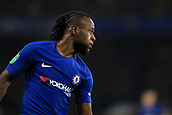 10th January 2018, Stamford Bridge, London, England; Carabao Cup football, semi final, 1st leg, Chelsea versus Arsenal; Victor Moses of Chelsea