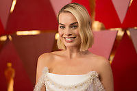 Oscar&reg; nominee Margot Robbie arrives on the red carpet of The 90th Oscars&reg; at the Dolby&reg; Theatre in Hollywood, CA on Sunday, March 4, 2018.<br /> *Editorial Use Only*<br /> CAP/PLF/AMPAS<br /> Supplied by Capital Pictures