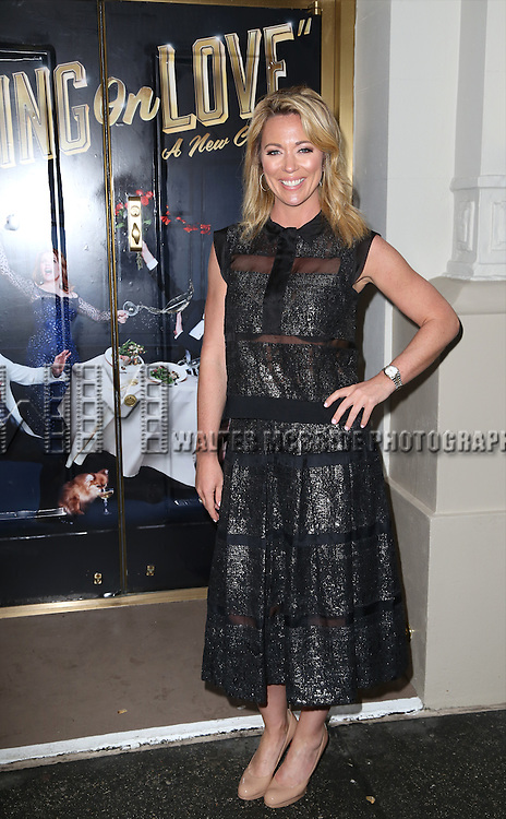 Brooke Baldwin attends the Broadway Opening Night Performance of  'Living on Love'  at  The Longacre Theatre on April 20, 2015 in New York City.
