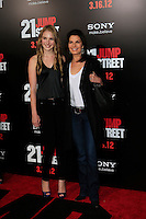 LOS ANGELES, CA - MAR 13: Sela Ward, daughter Annabella at the premiere of Columbia Pictures '21 Jump Street' held at Grauman's Chinese Theater on March 13, 2012 in Los Angeles, California