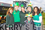 GREEN FUN: Member's of An Ríocht AC taking part in the Castleisland St Patrick's Day Parade l-r: Siobhan Daly, Amy Reidy, Ann O'Riordan-Murphy, Janette Ryan, Sneih Brennan and Evan Brennan.