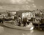 Fishing boat, Lower Matecumbe, Florida Keys, 1930s