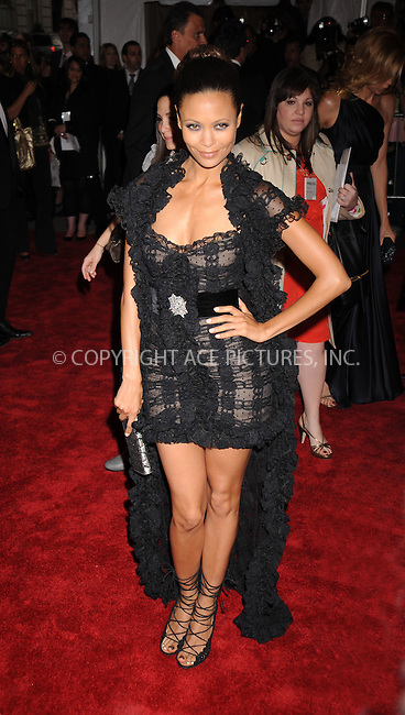 WWW.ACEPIXS.COM . . . . . ....May 5 2008, New York City....Actress Thandie Newton arriving at the Metropolitan Museum of Art Costume Institute Gala, Superheroes: Fashion and Fantasy, held at the Metropolitan Museum of Art on the Upper East Side of Manhattan.....Please byline: KRISTIN CALLAHAN - ACEPIXS.COM.. . . . . . ..Ace Pictures, Inc:  ..(646) 769 0430..e-mail: info@acepixs.com..web: http://www.acepixs.com