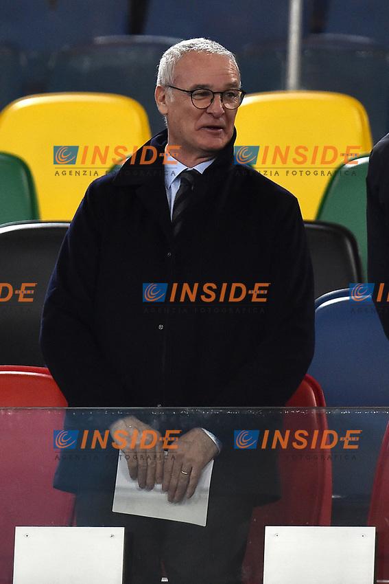 Claudio Ranieri <br /> Roma 27-02-2017, Stadio Olimpico<br /> Football Friendly Match  <br /> Italy - Spain Under 21 Foto Andrea Staccioli Insidefoto