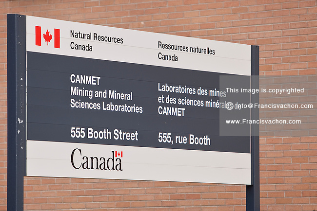 CANMET Mining and Mineral Sciences Laboratories are pictured in Ottawa Wednesday April 25, 2012.