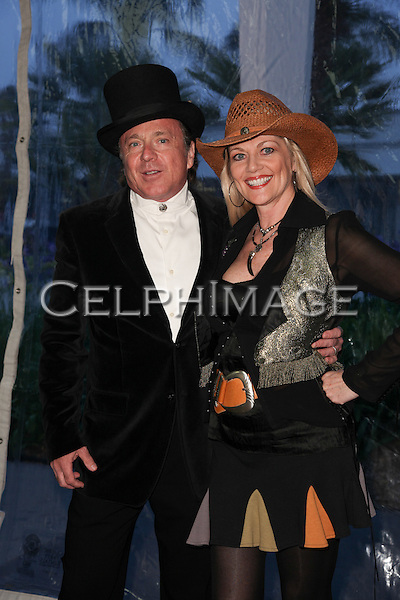 "KEITH ENGLAND, MARTHA SMITH. Red Carpet arrivals to the 57th Annual Boomtown Event, sponsored by SHARE (Share Happily And Reap Endlessly), honoring actress Jamie Lee Curtis with the ""Shining Spirit Award."" Santa Monica, CA, USA. June 5, 2010."