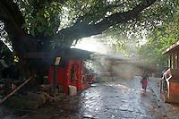 Pancha Nadi temple near  ghats of River Bagmati, Kathmandu, Nepal