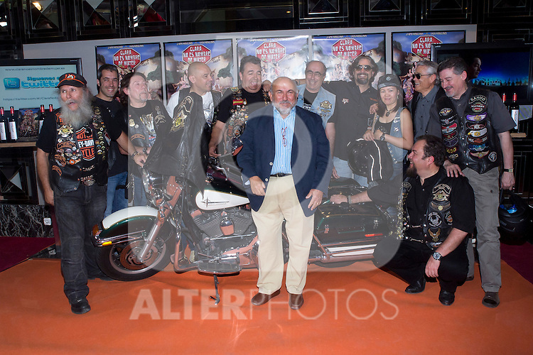 "30.05.2012. Premiere at the Callao Cinema in Madrid of the spanish movie ""Clara is not woman's name"" A comedy directed by Pepe Carbajo. In the image Pepe Carbajo(Alterphotos/Marta Gonzalez)"