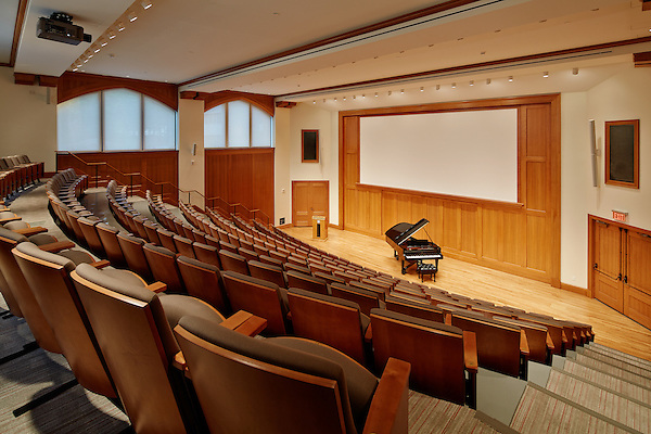 Music Department Choir Room at Marist College in Poughkeepsie, NY