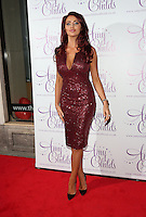 Amy Childs arriving for the Amy Childs clothing collection  3rd birthday party, London. 27/10/2014 Picture by: James Smith / Featureflash