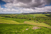 View looking towards Chipping from Whitewell, Lancashire.