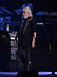 HOLLYWOOD, FL - JANUARY 10: Graeme Edge of the Moody Blues performs at Hard Rock Live! in the Seminole Hard Rock Hotel & Casino on January 10, 2018 in Hollywood, Florida.  ( Photo by Johnny Louis / jlnphotography.com )