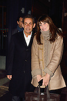 Nicolas Sarkozy & wife Carla Bruni in Brussels - Belgium - EXCLUSIVE