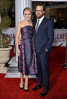 Actress Alison Pill &amp; actor husband Joshua Leonard at the world premiere of her movie &quot;Hail Caesar!&quot; at the Regency Village Theatre, Westwood.<br /> February 1, 2016  Los Angeles, CA<br /> Picture: Paul Smith / Featureflash