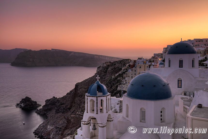 Oia Sunset in Santorini, Greece