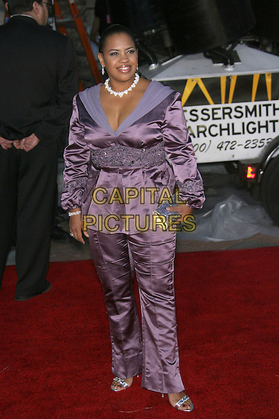 CHANDRA WILSON.The 33rd Annual People's Choice Awards - Arrivals held at The Shrine Auditorium, Los Angeles, California, USA..January 9th, 2007.full length purple jacket trousers suit satin.CAP/ADM/ZL.©Zach Lipp/AdMedia/Capital Pictures