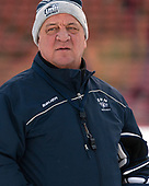 Dick Umile (UNH - Head Coach) - The University of New Hampshire Wildcats practiced at Fenway on Friday, January 13, 2017, in Boston, Massachusetts.