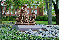 Memorial sculpture, Elizabeth Seton National Shrine, Emmitsburg, Maryland