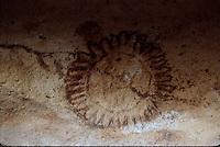 Rare Australian Aboriginal Cave and Rock wall paintings from eastern Arnhem Land, Northern Territory, Australia