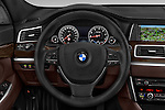 Car pictures of steering wheel view of a 2015 BMW 5 Series 535I Luxury 5 Door Hatchback 2WD Steering Wheel