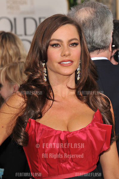 Sofia Vergara at the 68th Annual Golden Globe Awards at the Beverly Hilton Hotel..January 16, 2011  Beverly Hills, CA.Picture: Paul Smith / Featureflash