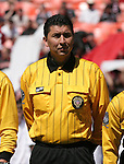 06 May 2007: Fourth official Jorge Gonzalez.  DC United defeated CD Chivas USA 2-1 at RFK Stadium in Washington, DC in a Major League Soccer 2007 regular season game.