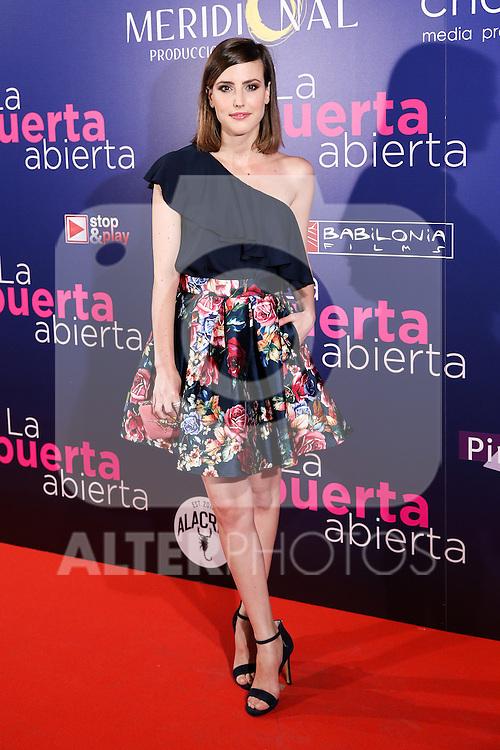 Natalia de Molina during the premiere of La Puerta abierta at Palacio de la Prensa in Madrid. September 01, 2016. (ALTERPHOTOS/Rodrigo Jimenez)