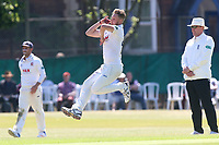 Jamie Porter in bowling action for Essex during Surrey CCC vs Essex CCC, Specsavers County Championship Division 1 Cricket at Guildford CC, The Sports Ground on 10th June 2017