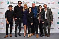 The cast<br /> <br /> Drowning Photocall <br /> Roma 20-10-2019 Auditorium Parco della Musica <br /> Rome Film festival <br /> Photo Massimo Insabato / Insidefoto