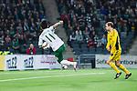 Stockholm 2014-03-04 Fotboll Svenska Cupen Hammarby IF - &Auml;ngelholms FF :  <br /> Hammarbys Pablo Pinones-Arce har en m&aring;lchans p&aring; volley i den f&ouml;rsta halvleken<br /> (Foto: Kenta J&ouml;nsson) Nyckelord:  HIF Bajen &Auml;ngelholm