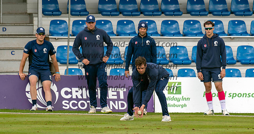 Scotland V Sri Lanka 2nd One Day International at Grange CC, Edinburgh - fielding practice - Calum MacLeod - picture by Donald MacLeod - 21.05.19 - 07702 319 738 - clanmacleod@btinternet.com - www.donald-macleod.com