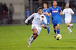 Hoffenheim 10.10.2008, 1. Fußball Bundesliga Testspiel 1899 Hoffenheim - FSV Frankfurt, Frankfurts Oualid Mokthari<br /> <br /> Foto © Rhein-Neckar-Picture *** Foto ist honorarpflichtig! *** Auf Anfrage in höherer Qualität/Auflösung. Belegexemplar erbeten.