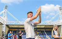 Preston North End's Paul Gallagher applauds the fans during a lap around the pitch<br /> <br /> Photographer Alex Dodd/CameraSport<br /> <br /> The EFL Sky Bet Championship - Preston North End v Burton Albion - Sunday 6th May 2018 - Deepdale Stadium - Preston<br /> <br /> World Copyright &copy; 2018 CameraSport. All rights reserved. 43 Linden Ave. Countesthorpe. Leicester. England. LE8 5PG - Tel: +44 (0) 116 277 4147 - admin@camerasport.com - www.camerasport.com