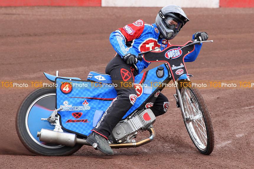 Leigh Lanham of Lakeside - Lakeside Hammers Press & Practice Day at Arena Essex Raceway - 11/03/08 - MANDATORY CREDIT: Gavin Ellis/TGSPHOTO. Self-Billing applies where appropriate. NO UNPAID USE. Tel: 0845 094 6026