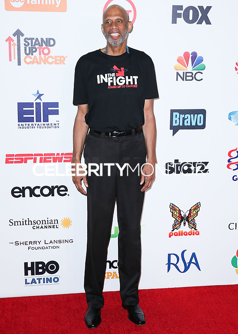 HOLLYWOOD, LOS ANGELES, CA, USA - SEPTEMBER 05: Kareem Abdul-Jabbar arrives at the 4th Biennial Stand Up To Cancer held at Dolby Theatre on September 5, 2014 in Hollywood, Los Angeles, California, United States. (Photo by Xavier Collin/Celebrity Monitor)