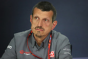 June 9th 2017, Montreal, Canada; Formula 1 Grand prix of Canada, Free practise day during the team management press conference;  Guenther Steiner - Haas