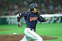 Katsuya Kakunaka (JPN), .FEBRUARY 28, 2013 - WBC : .2013 World Baseball Classic .Exhibithion Game .between Tokyo Yomiuri Giants 1-6 Japan .at Yafuoku Dome, Fukuoka, Japan. .(Photo by YUTAKA/AFLO SPORT)