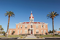 1891 Pinal County Courthouse. Florence, Arizona. Images are available for editorial licensing, either directly or through Gallery Stock. Some images are available for commercial licensing. Please contact lisa@lisacorsonphotography.com for more information.