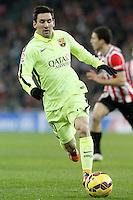 FC Barcelona's Leo Messi during La Liga match.February 8,2015. (ALTERPHOTOS/Acero) /NORTEphoto.com