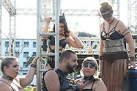 SÃO PAULO, SP, 20.03.2016- EROTIKA-FAIR - Ação de divulgação da Erotika Fair 2016 que será realizada nos dias 01 a 03 de abril no Pro-Magno Centro de Eventos, na região norte da cidade de São Paulo neste domingo, 20. (Foto: Marcos Moraes/Brazil Photo Press)