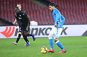 2nd February 2019, Stadio San Paolo, Naples, Italy; Serie A football, Napoli versus Sampdoria;  Simone Verdi of Napoli scores from the penalty  spot for 3-0