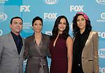 One Life To Live Melissa Fumero with Stephanie Beatriz in Brooklyn Nine-Nine - FOX 2015 Programming Presentation on May 11, 2015 at Wolman Rink, Central Park, New York City, New York.  (Photos by Sue Coflin/Max Photos)