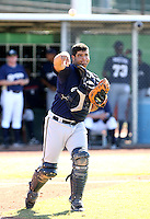 Shawn Zarraga / Milwaukee Brewers 2008 Instructional League..Photo by:  Bill Mitchell/Four Seam Images