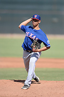 Texas Rangers pitcher Ariel Jurado (89) during an Instructional League game against the Cincinnati Reds on October 7, 2013 at Goodyear Training Complex in Goodyear, Arizona.  (Mike Janes/Four Seam Images)