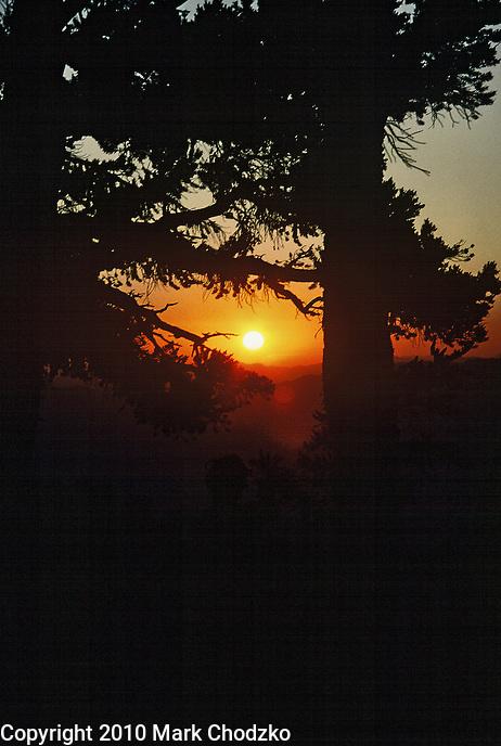 Sunrise in the High Sierras